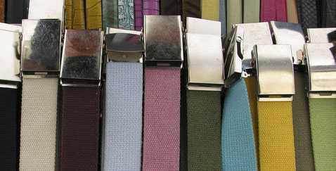 Webb sports belts